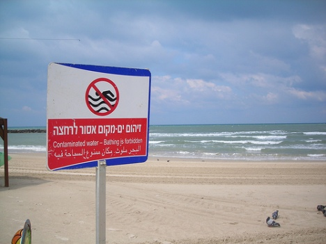 Sewage has closed Tel Aviv beaches for 60 days in a row